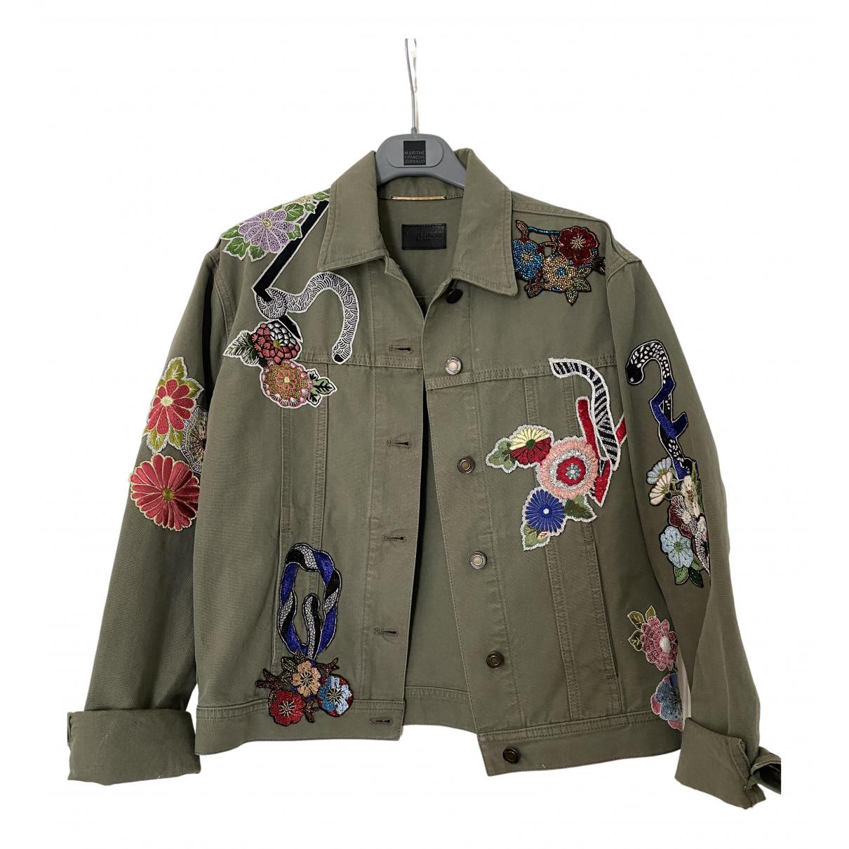 Saint Laurent N Green Cotton jacket for Women M International