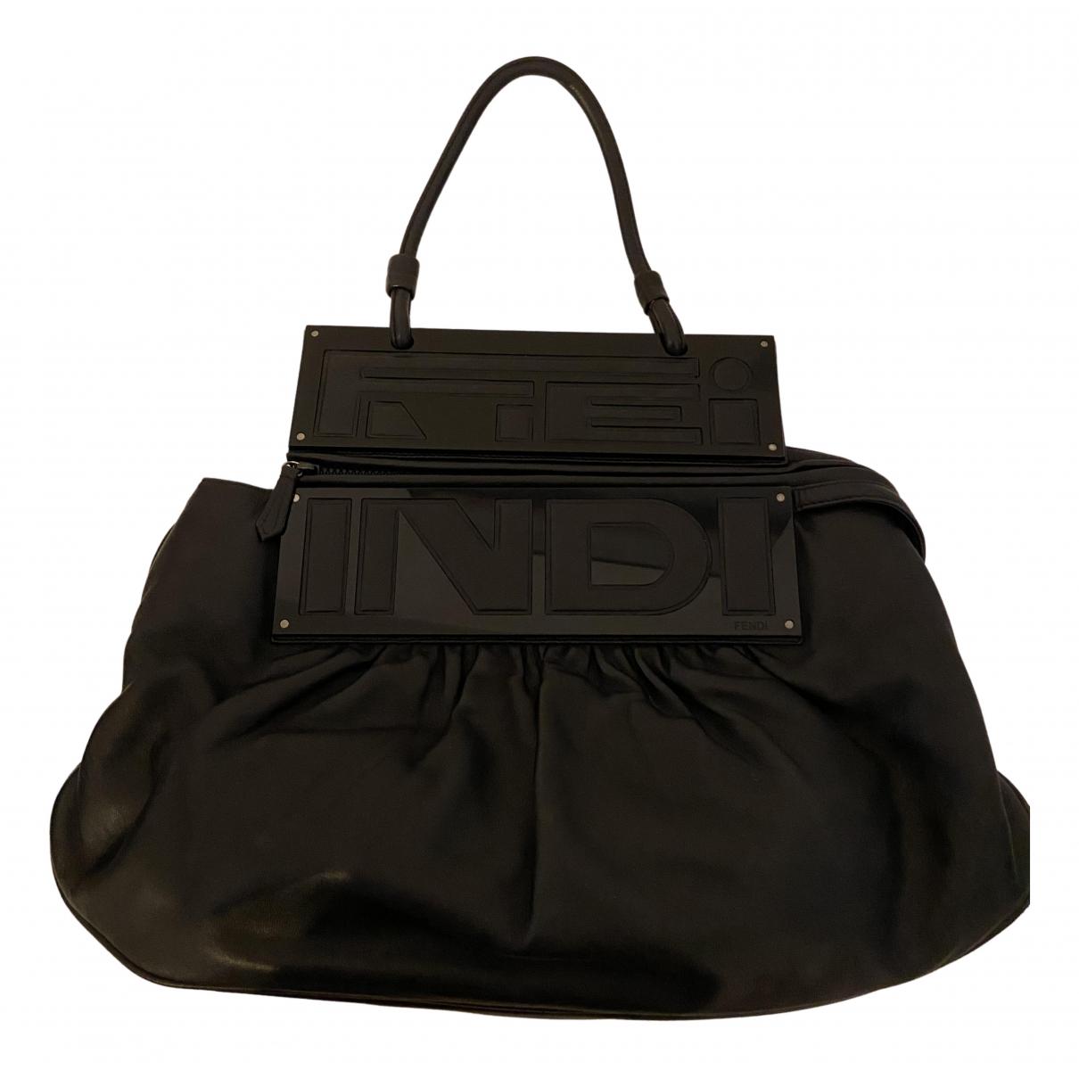 Fendi N Black Leather handbag for Women N