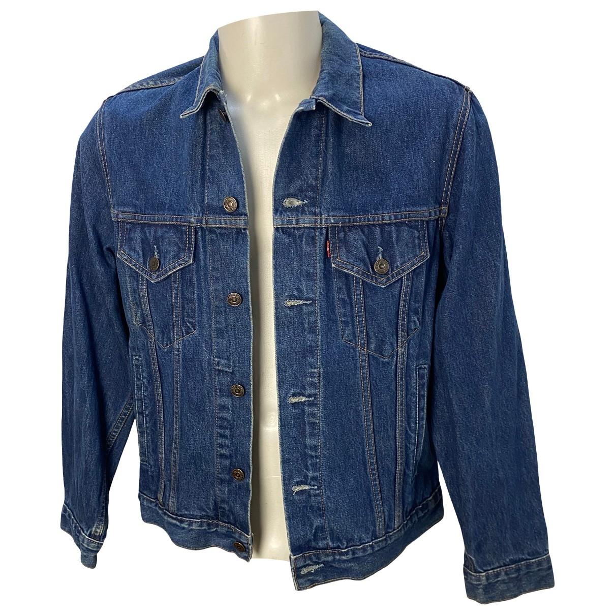 Levi's \N Blue Cotton jacket  for Men M International
