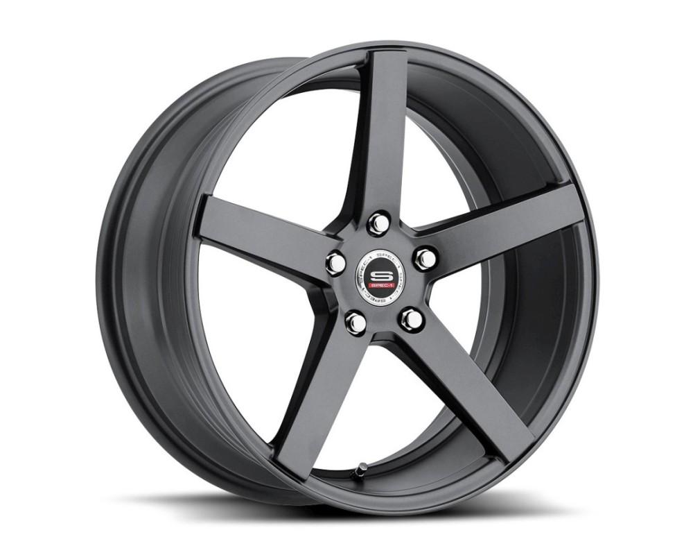 Spec-1 SP-36 Wheel Racing Series 20x9.5 Blank 42mm Titanium