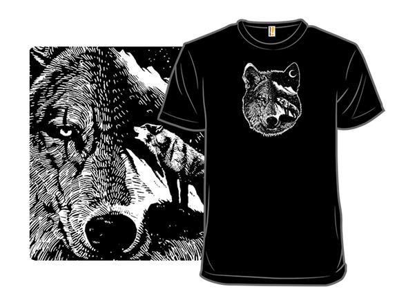 Night Wolf T Shirt