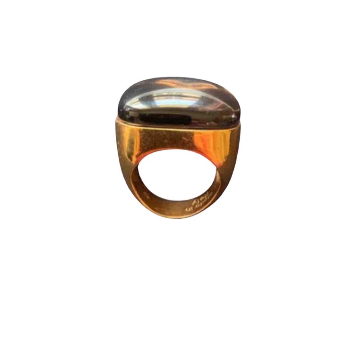 Rebecca \N Ring in  Gold Metall