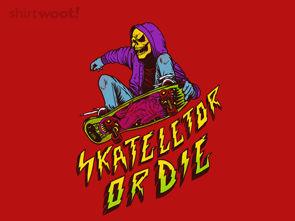 Skateletor Or Die T Shirt