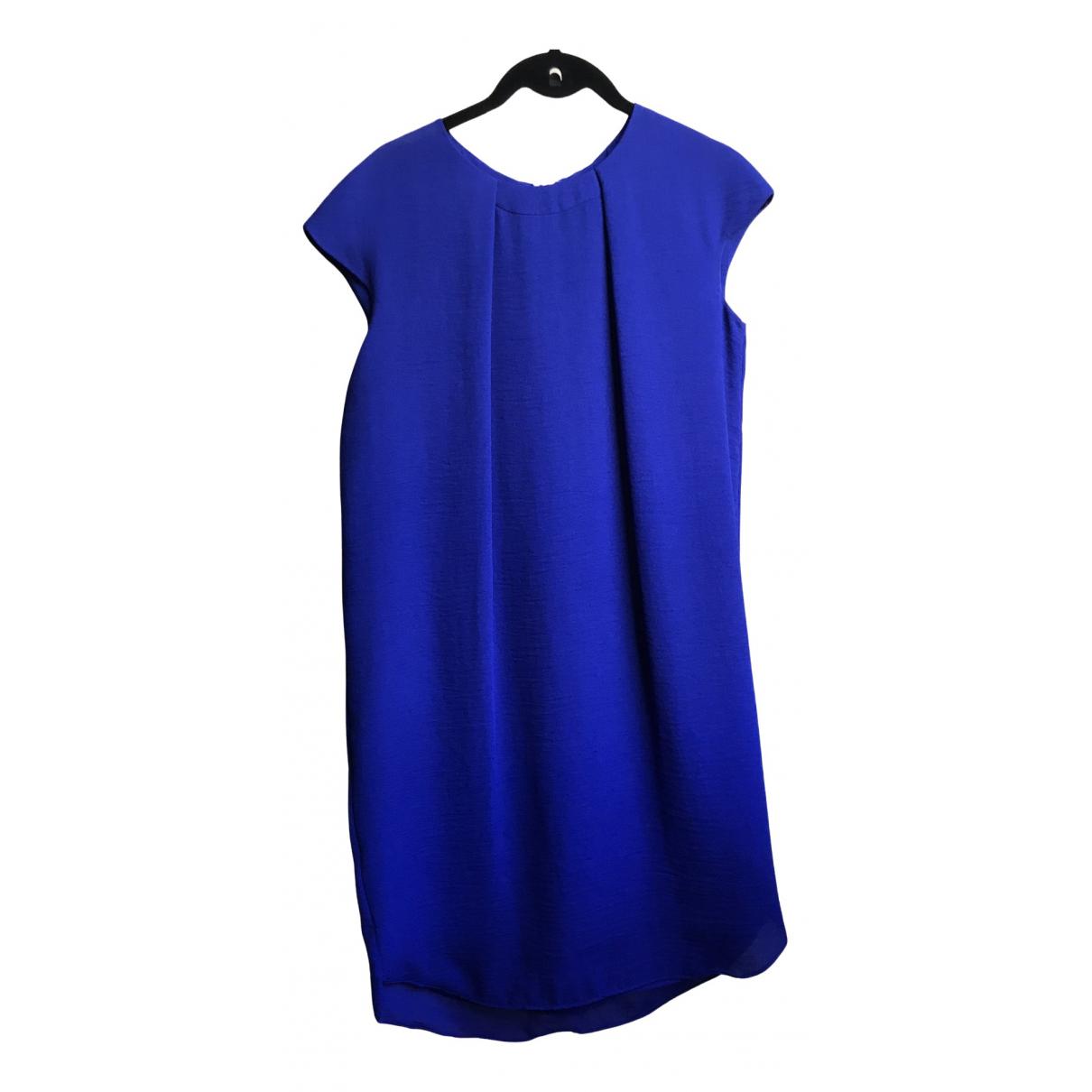 Cos \N Kleid in  Blau Synthetik
