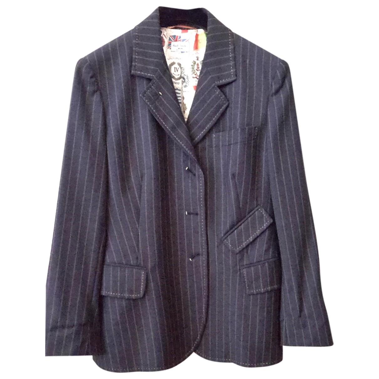 Paul Smith N Black Wool jacket for Women 40 FR