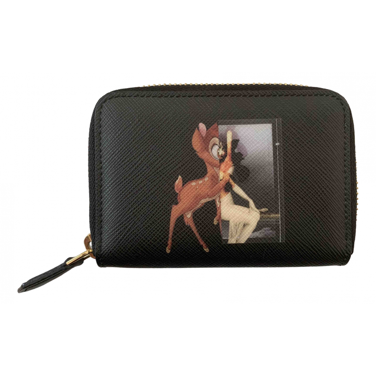 Givenchy \N Black Leather wallet for Women \N