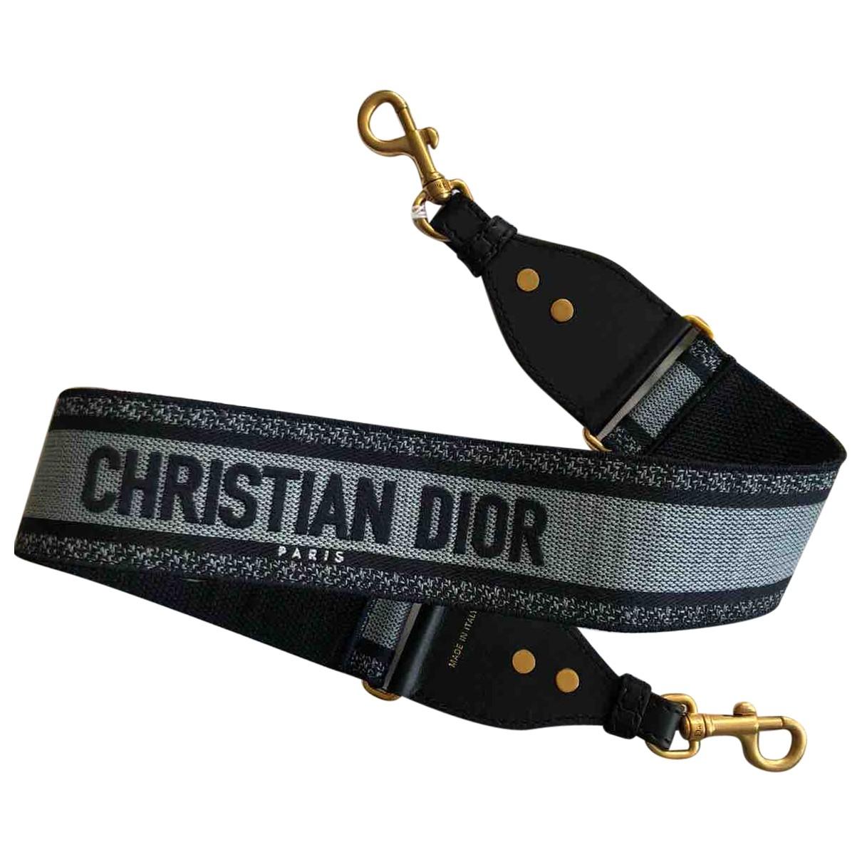 Dior - Petite maroquinerie   pour femme en cuir - noir