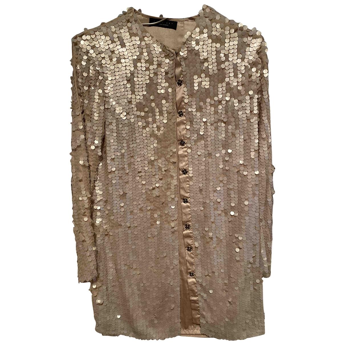 Twin Set \N White Glitter jacket for Women 40 IT