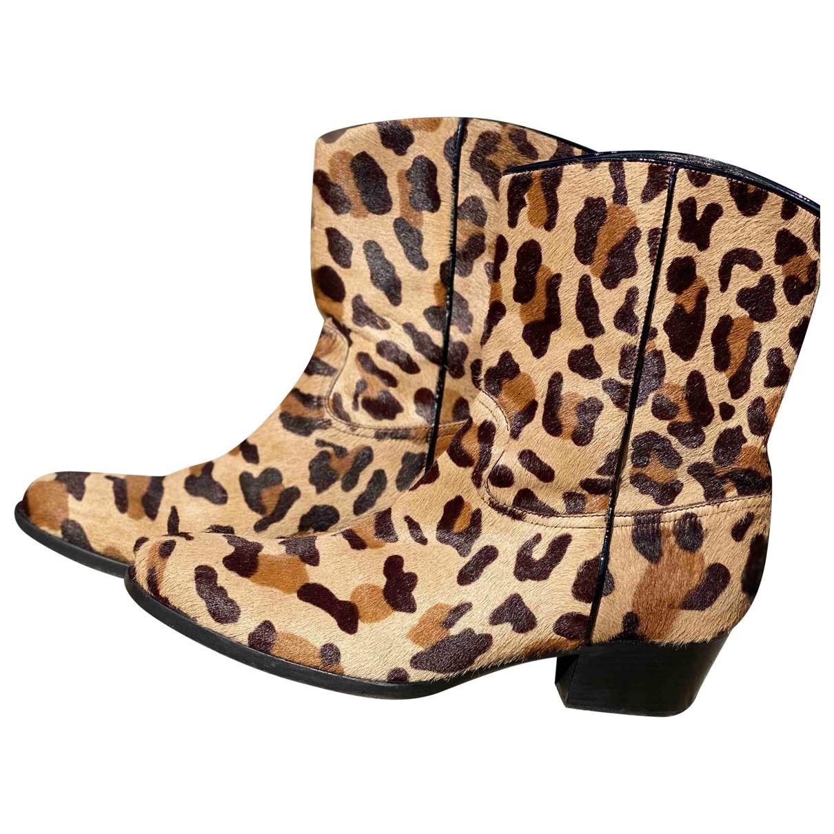 Carshoe - Boots   pour femme en veau facon poulain