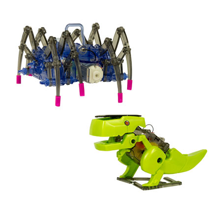 Gener8 Ubuild Dinobot And Spiderbot Building Set, One Size , No Color Family