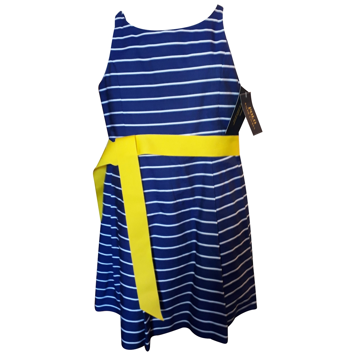 Polo Ralph Lauren \N Blue Cotton dress for Kids 6 years - up to 114cm FR
