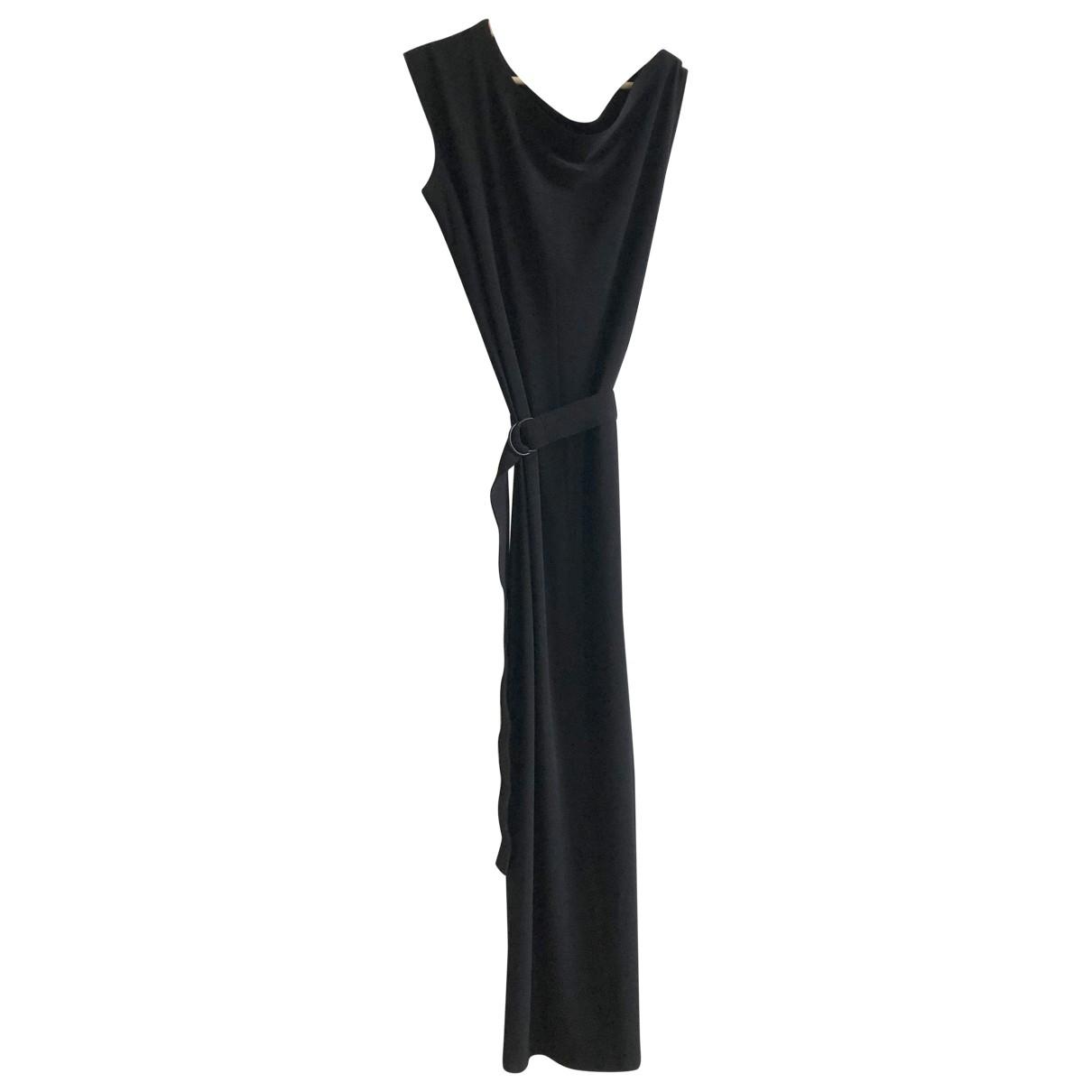 Norma Kamali \N Kleid in  Schwarz Polyester