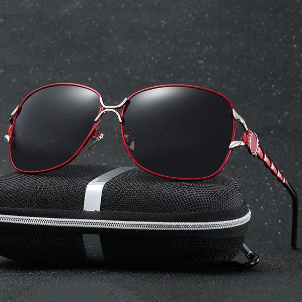 Women Retro Brand Designer Polarized Sunglasses UV400 Driving Sun Glasses Eyewear