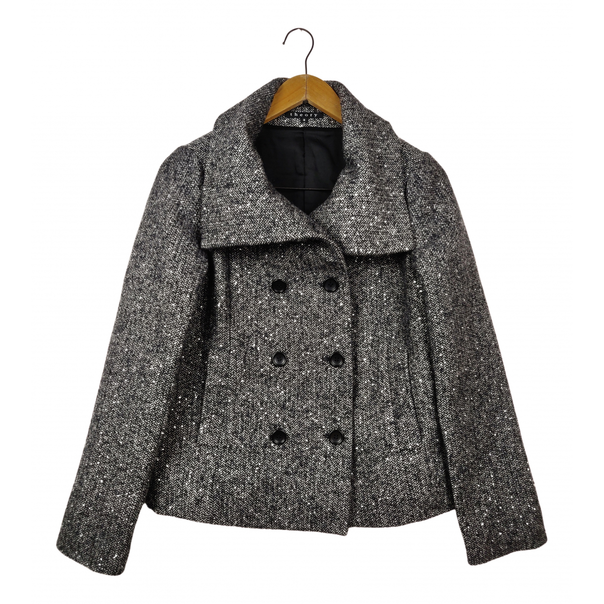 Theory N Grey Wool coat for Women 2 0-5