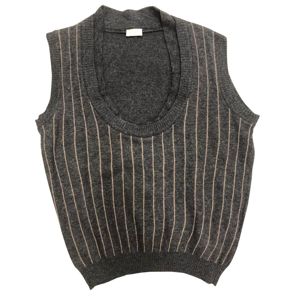 Valentino Garavani \N Pullover in  Grau Wolle