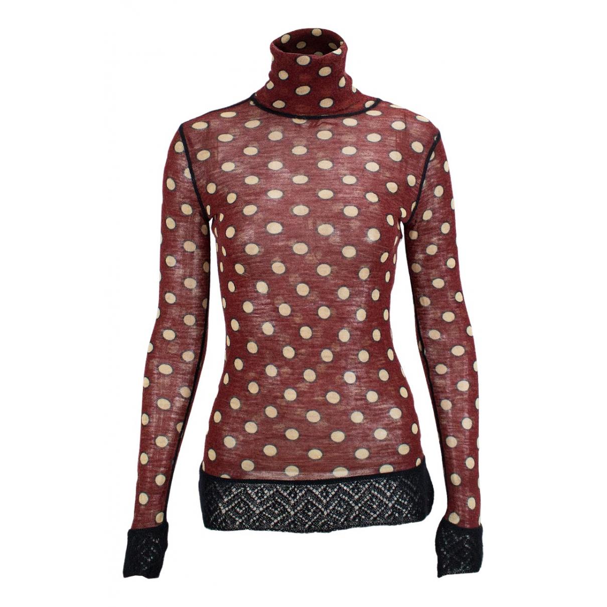 Jean Paul Gaultier N Red Cotton  top for Women S International