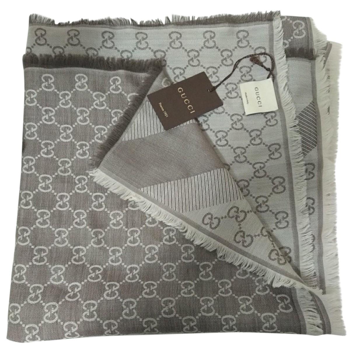 Gucci N Brown Wool scarf for Women N