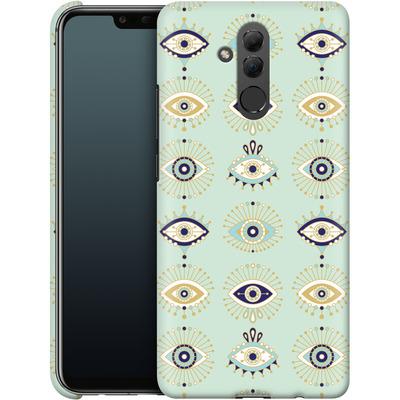 Huawei Mate 20 Lite Smartphone Huelle - Evil Eyes Mint von Cat Coquillette