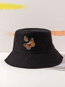 Butterfly Pattern Bucket Hat
