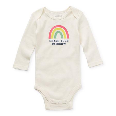 Okie Dokie Baby Girls Bodysuit, 9 Months , White