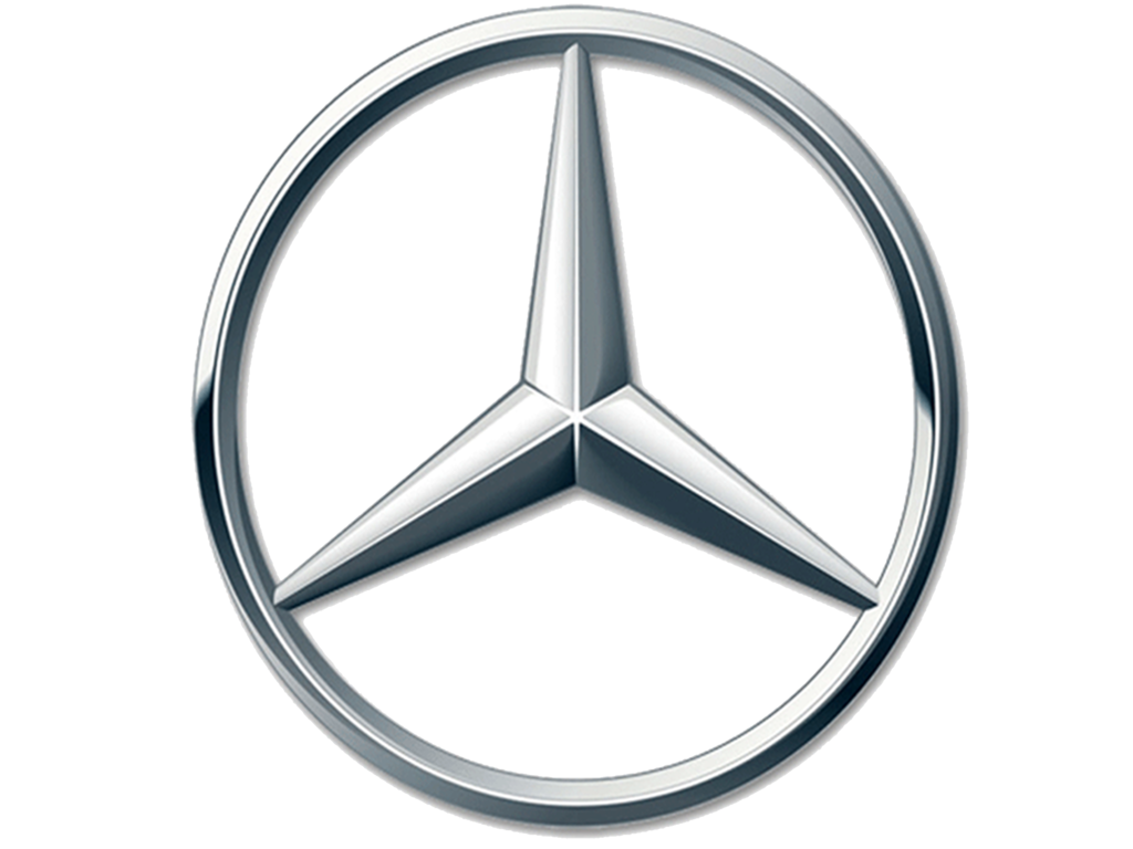 Genuine Mercedes 208-758-00-58 Emblem Mercedes-Benz