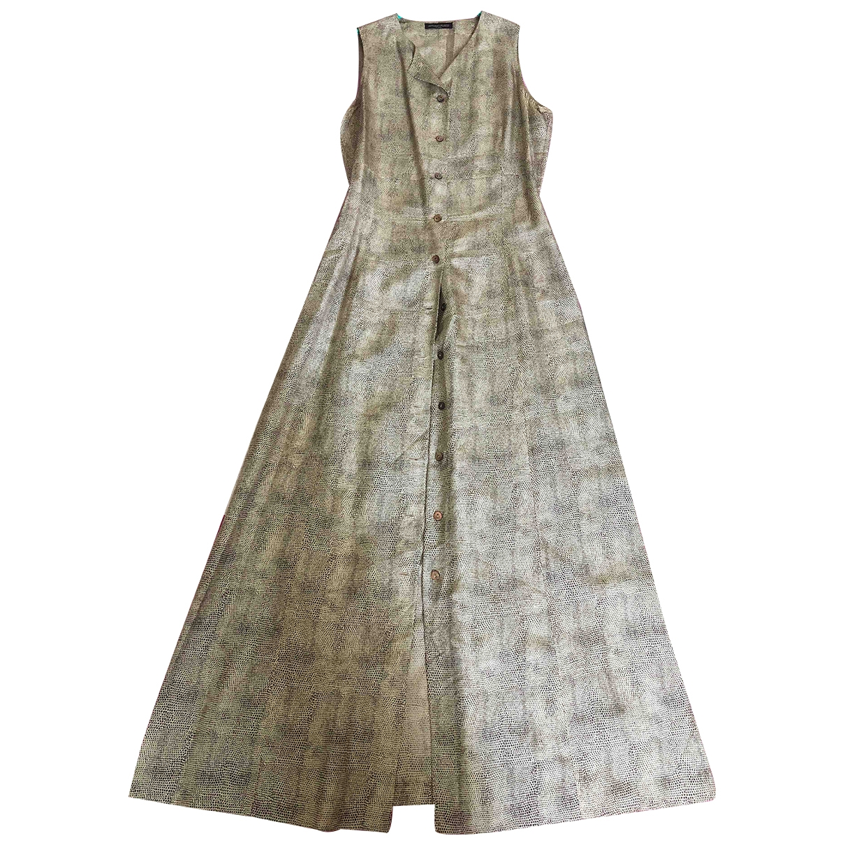 Non Signé / Unsigned \N Beige dress for Women 38 IT