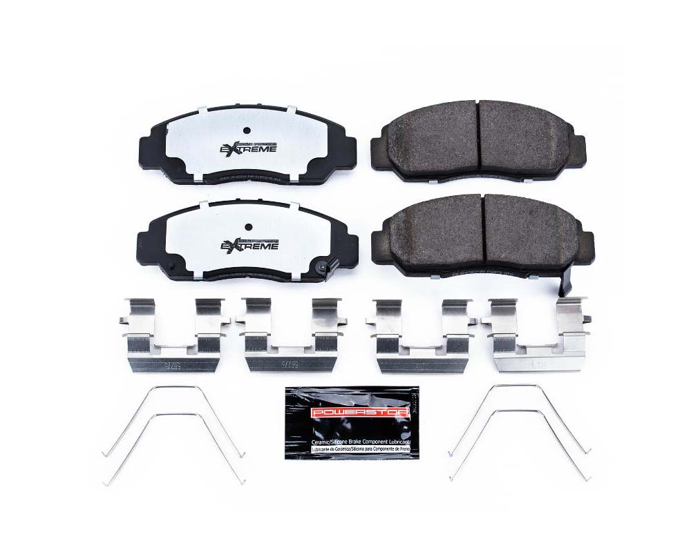 Power Stop Z26-1608 Z26 Extreme Street Brake Pads w/Hardware Front Honda Civic 2006-2015