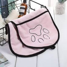 1 Stueck Saugfaehiges Handtuch fuer Hunde