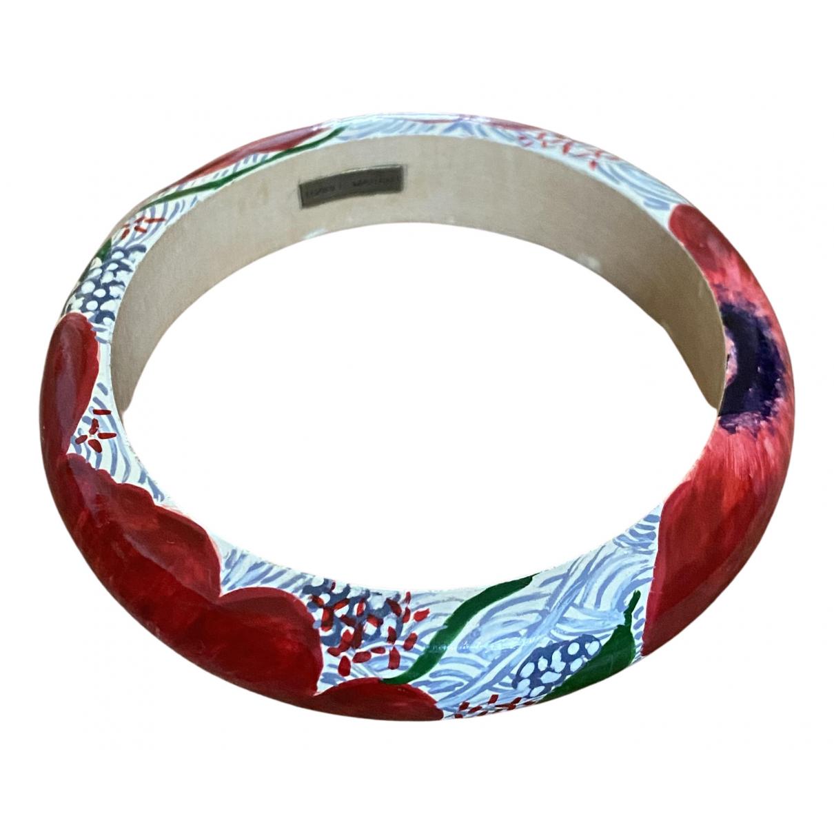 Isabel Marant - Bracelet   pour femme en bois - multicolore