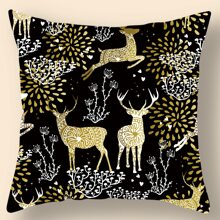 Christmas Pattern Cushion Cover Without Filler