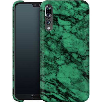 Huawei P20 Pro Smartphone Huelle - Green Marble von caseable Designs