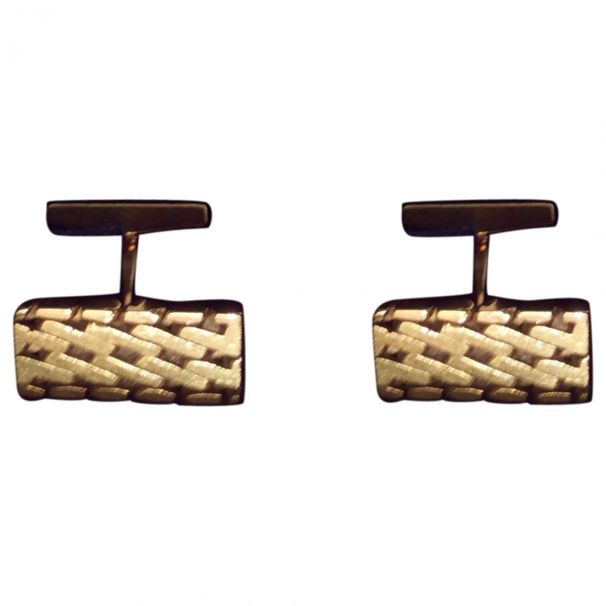 Hermès \N Yellow Gold Cufflinks for Men \N