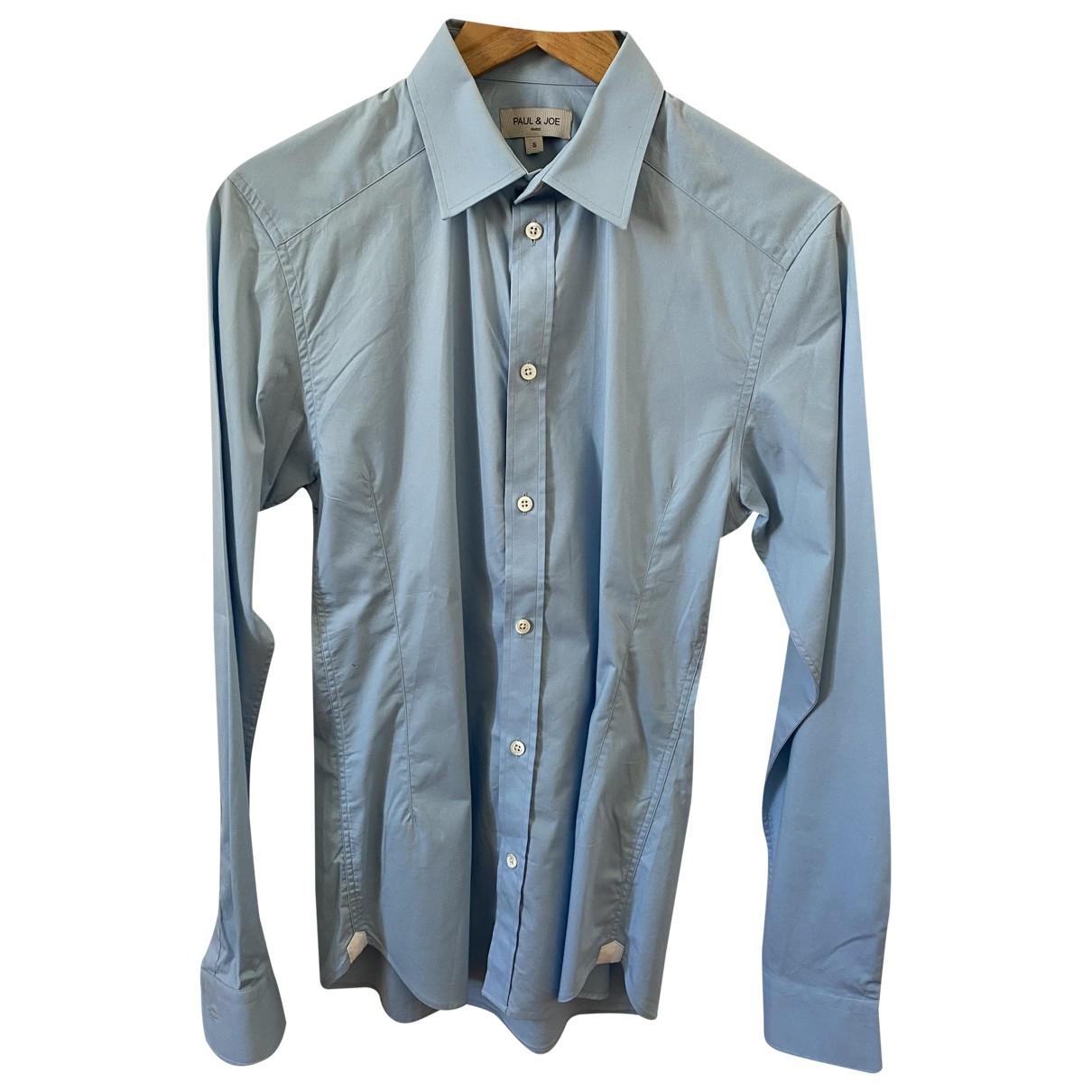 Paul & Joe - Chemises   pour homme en coton - bleu