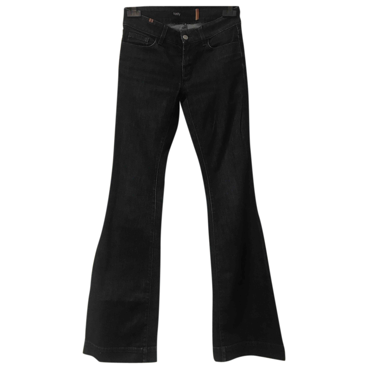 Notify N Blue Cotton - elasthane Jeans for Women 26 US