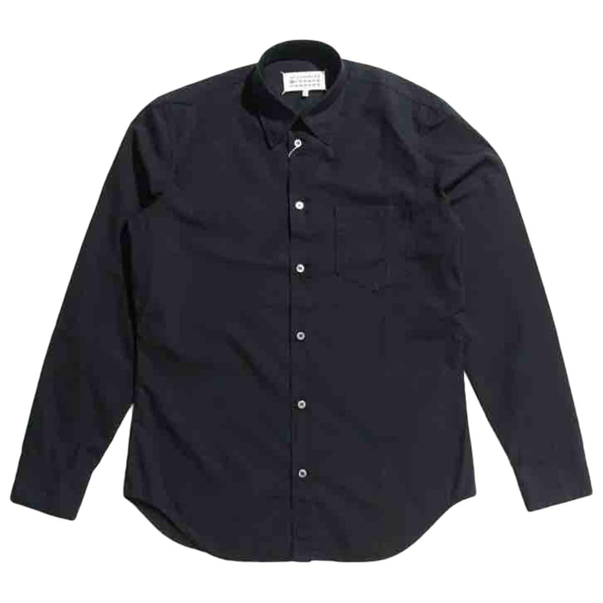 Maison Martin Margiela - Chemises   pour homme en coton - noir