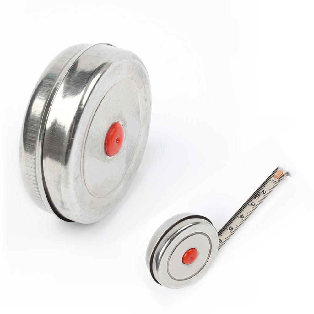 1m 2m 3m Mini Retractable Tape for Home Factory Office Stainless Steel Woodworking Tape Measure