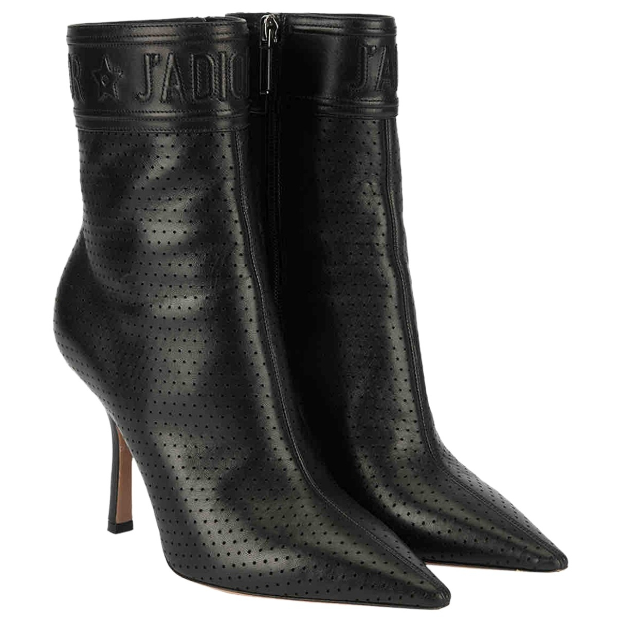 Dior \N Black Leather Ankle boots for Women 5 UK