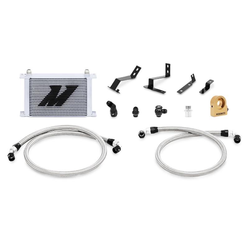 Mishimoto MMOC-CAM8-16TSL Thermostatic Oil Cooler Kit (Silver) Chevrolet Camaro 2016+