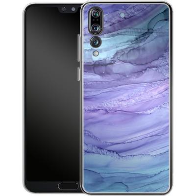 Huawei P20 Pro Silikon Handyhuelle - Mermaid Marble von Becky Starsmore