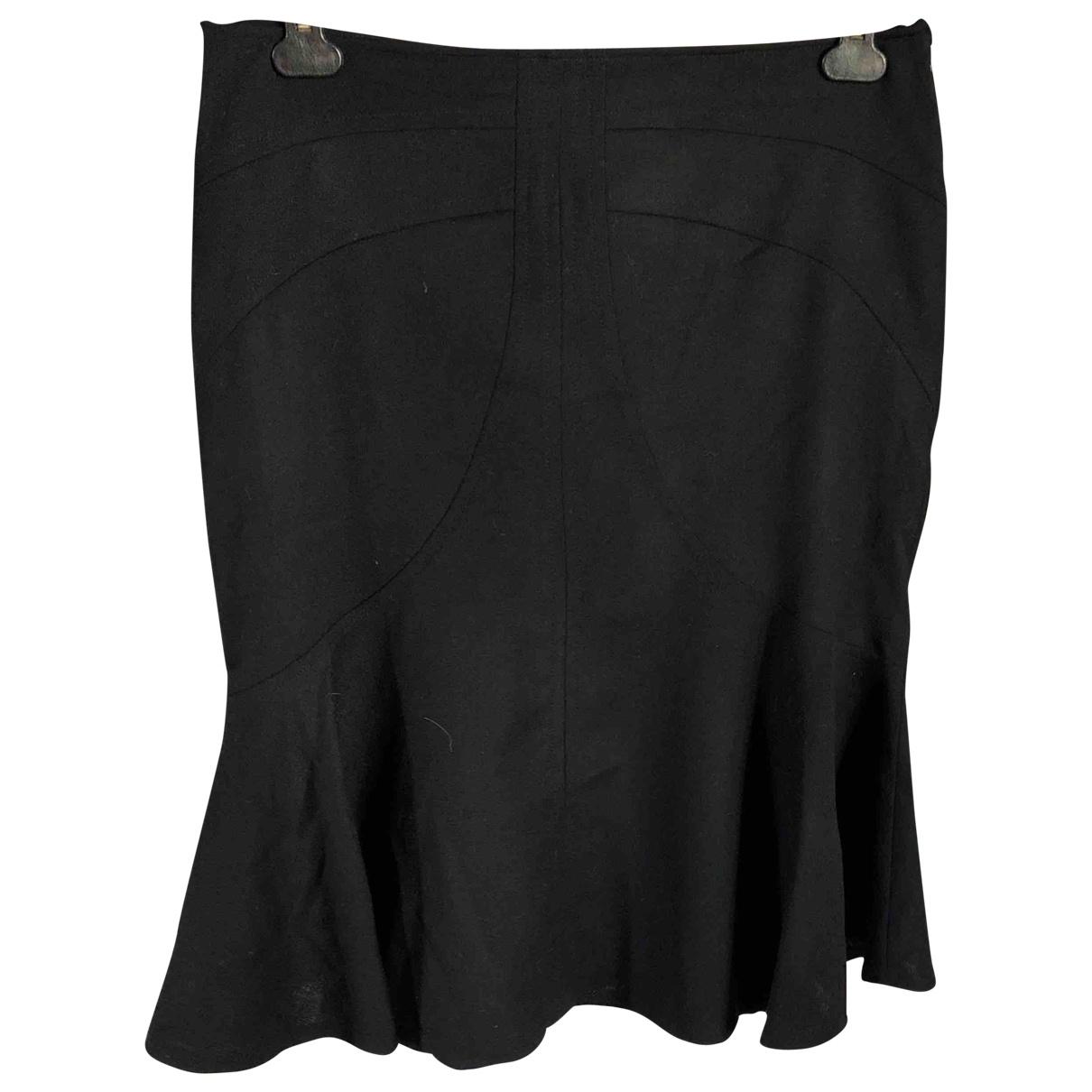 Versus - Jupe   pour femme en laine - noir