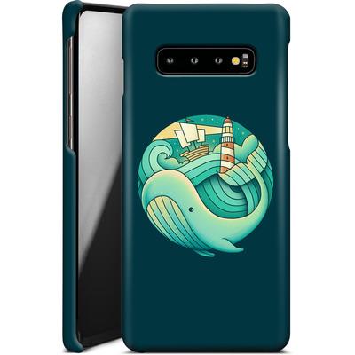 Samsung Galaxy S10 Plus Smartphone Huelle - Into The Ocean von Enkel Dika