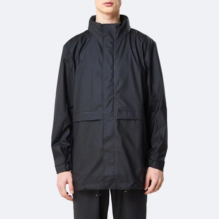 Rains Tracksuit Jacket 1262 BLACK