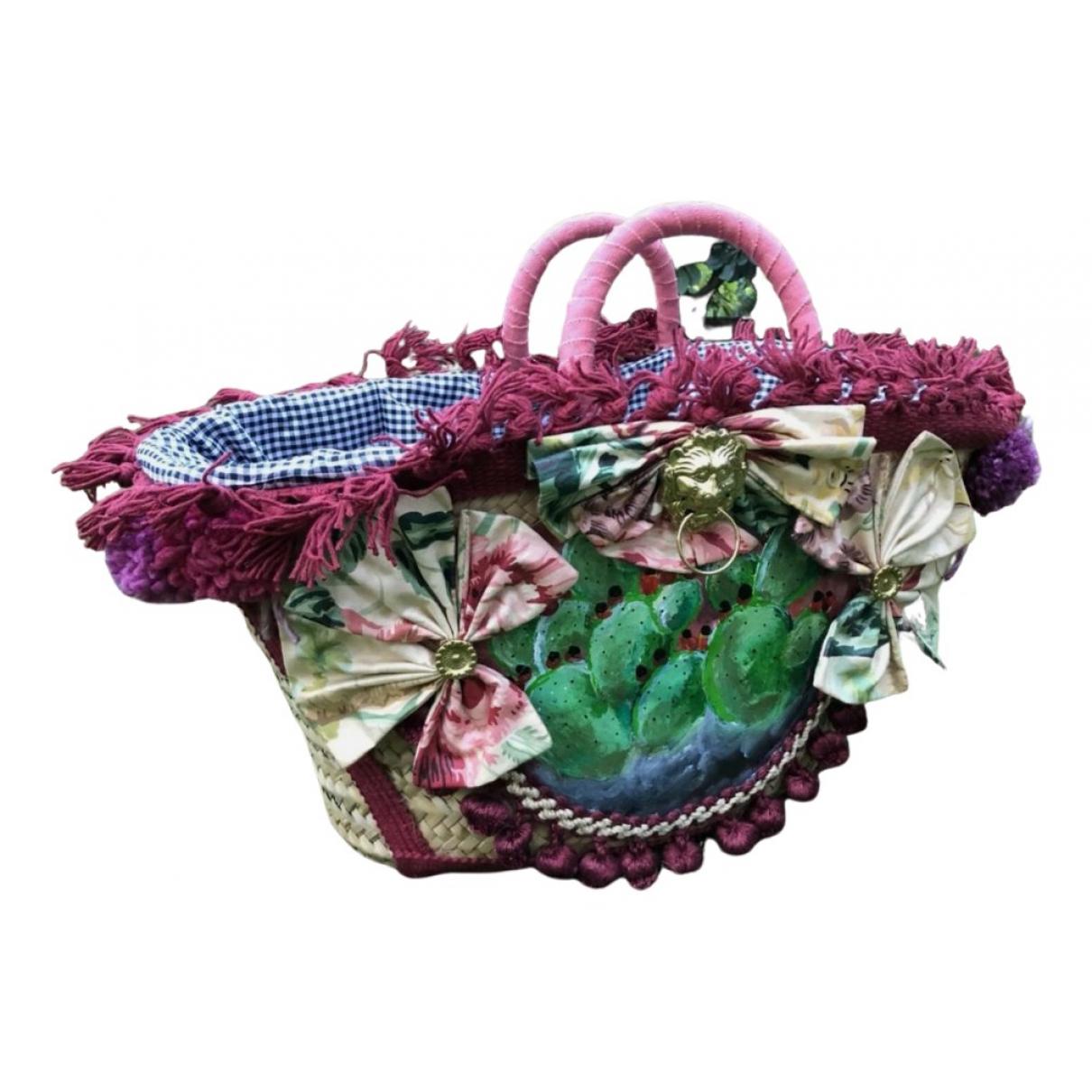 Dolce & Gabbana N Multicolour Wicker handbag for Women N