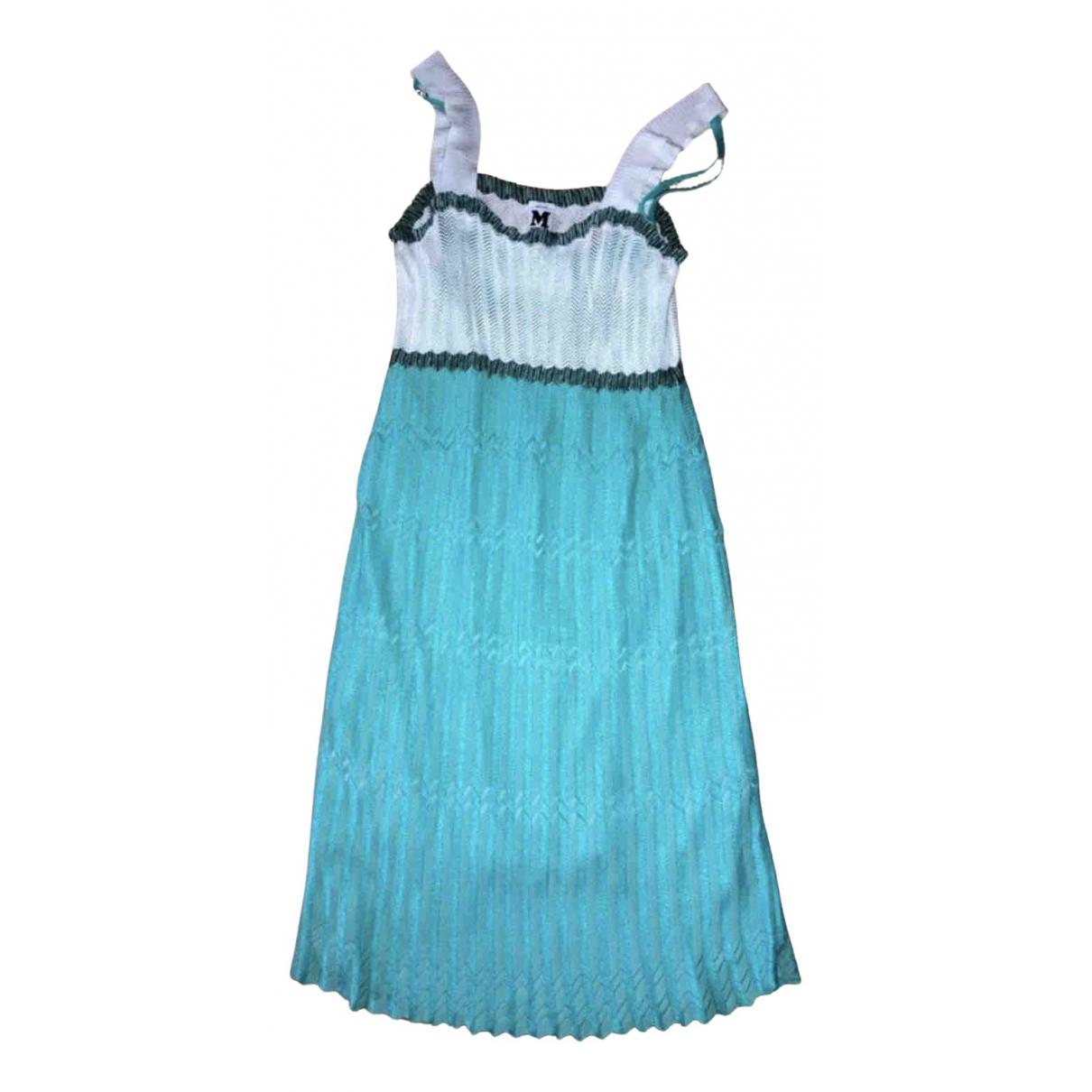M Missoni \N Kleid in  Blau Viskose