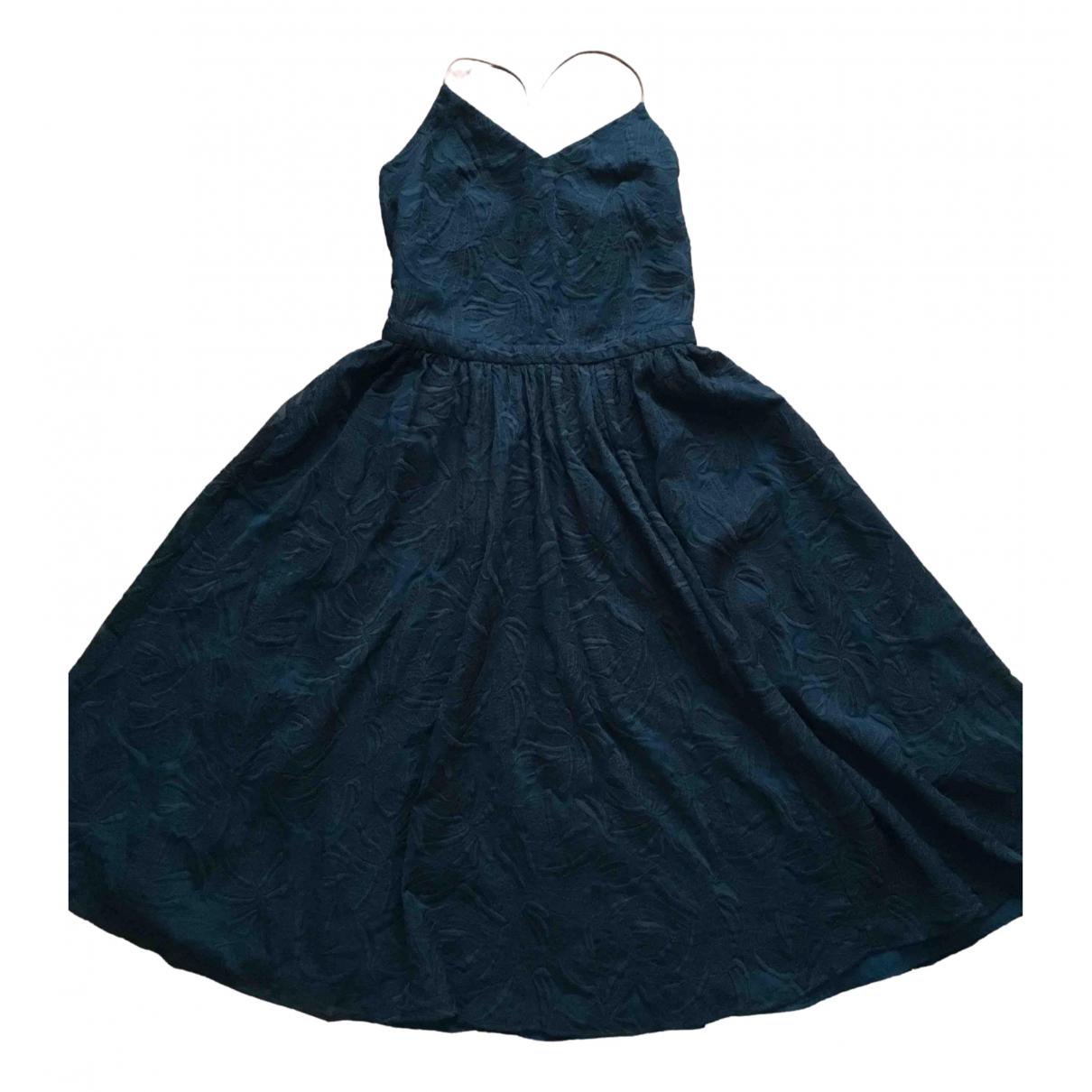 Sessun \N Kleid in  Gruen Baumwolle