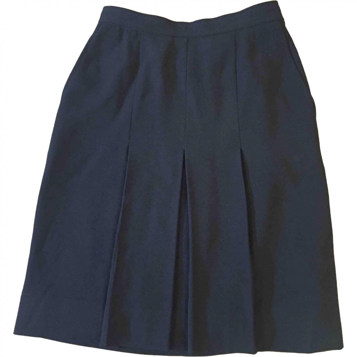 Yves Saint Laurent \N Black Wool skirt for Women 38 FR