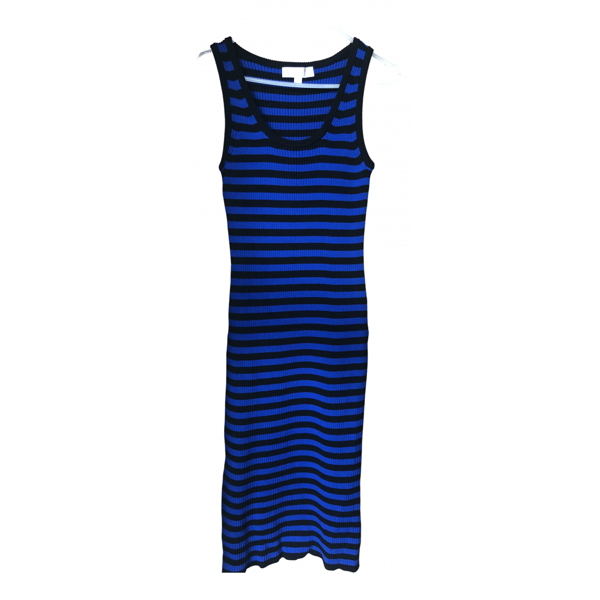 Michael Kors \N Kleid in  Blau Baumwolle - Elasthan
