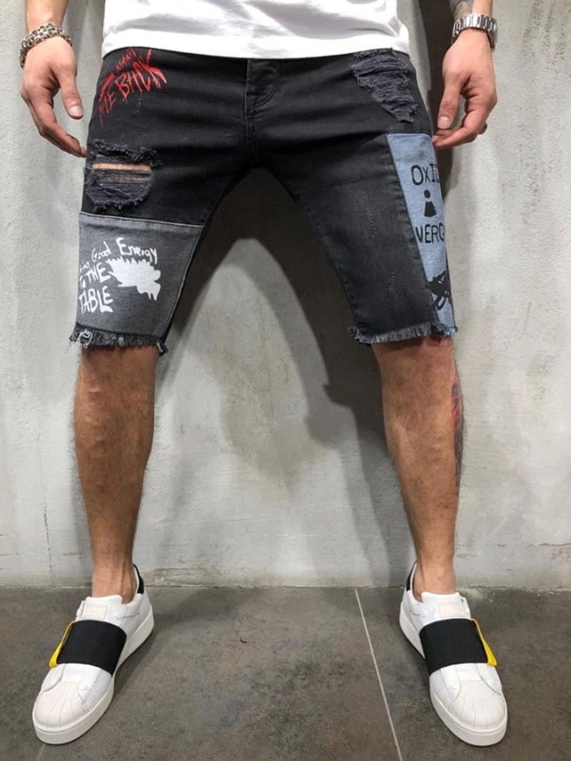 Ericdress Men's Zipper Casual Jeans