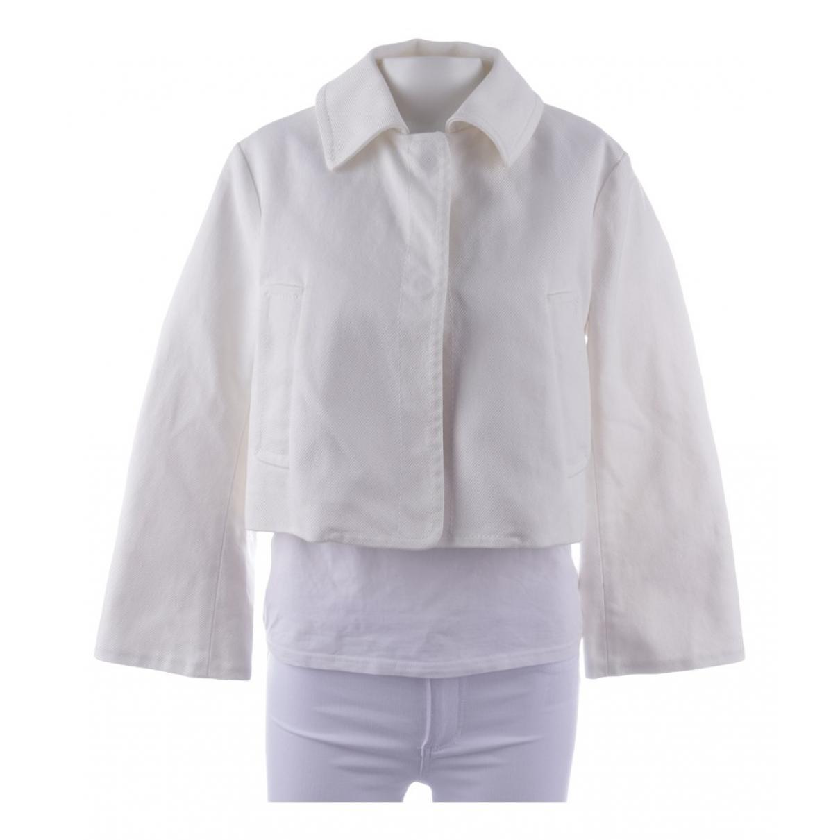 Dorothee Schumacher - Veste   pour femme en coton - blanc