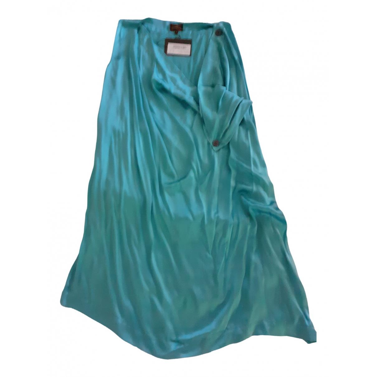 Vivienne Westwood \N Kleid in  Gruen Seide